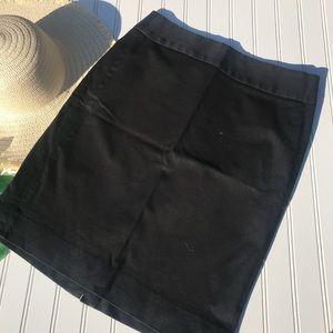 Banana Republic Black Career Work Pencil Skirt
